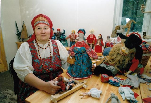 Мастер класс народный стиль русский