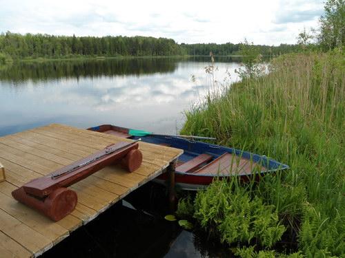 Как правильно сделать пирс на озере